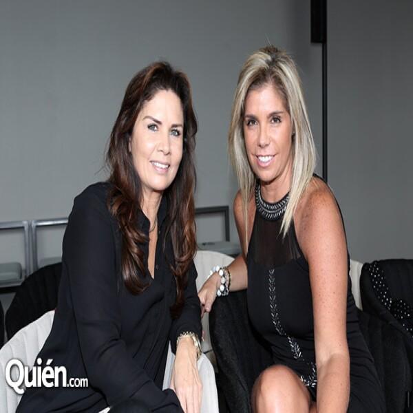 Alejandra Margain y Marcela Narcio