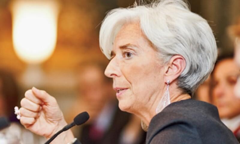 Christine Lagarde fue la primera mujer al frente del despacho de abogados Baker & McKenzie, y ahora es la primera en dirigir el FMI. (Foto: Alex H.O.)