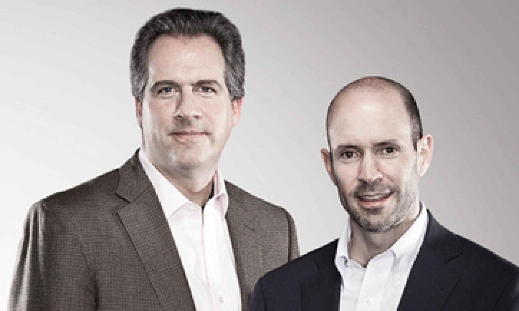 Carlos Labarthe y Carlos Danel son el cerebro y corazón de Grupo Compartamos. Ambos lideran el banco de microfinanzas bajo un modelo poco recomendado: la codirección. (Foto: Fernando Montiel Klint)