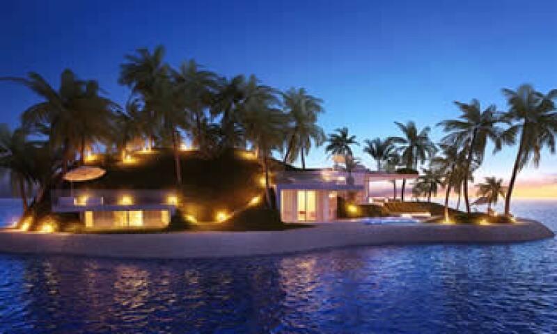 El hotel Amillarah en Dubái está copmpuesto por varias islas privadas.  (Foto: Cortesía/Dutch Docklands )