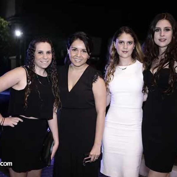 Samantha Cibula,Adriana Rosete,Estefania Fernández y Andrea Fernández