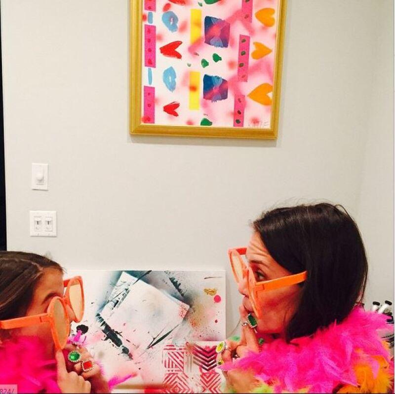 Con una divertida fiesta, en la que predominó el tema girly, la ex de Tom Cruise celebró el cumpleaños número 9 de la pequeña.
