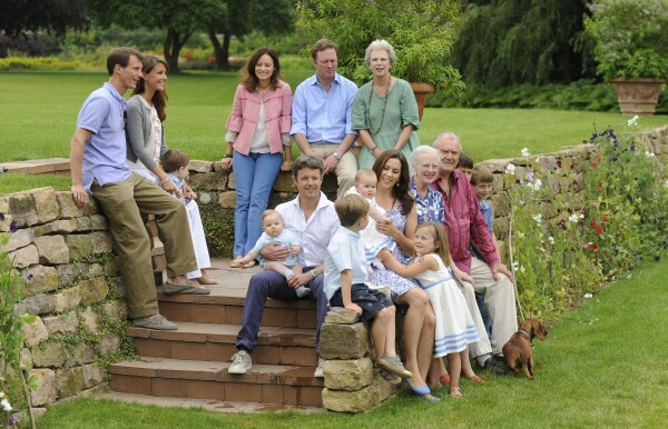 Danish Royals At Grasten Castle