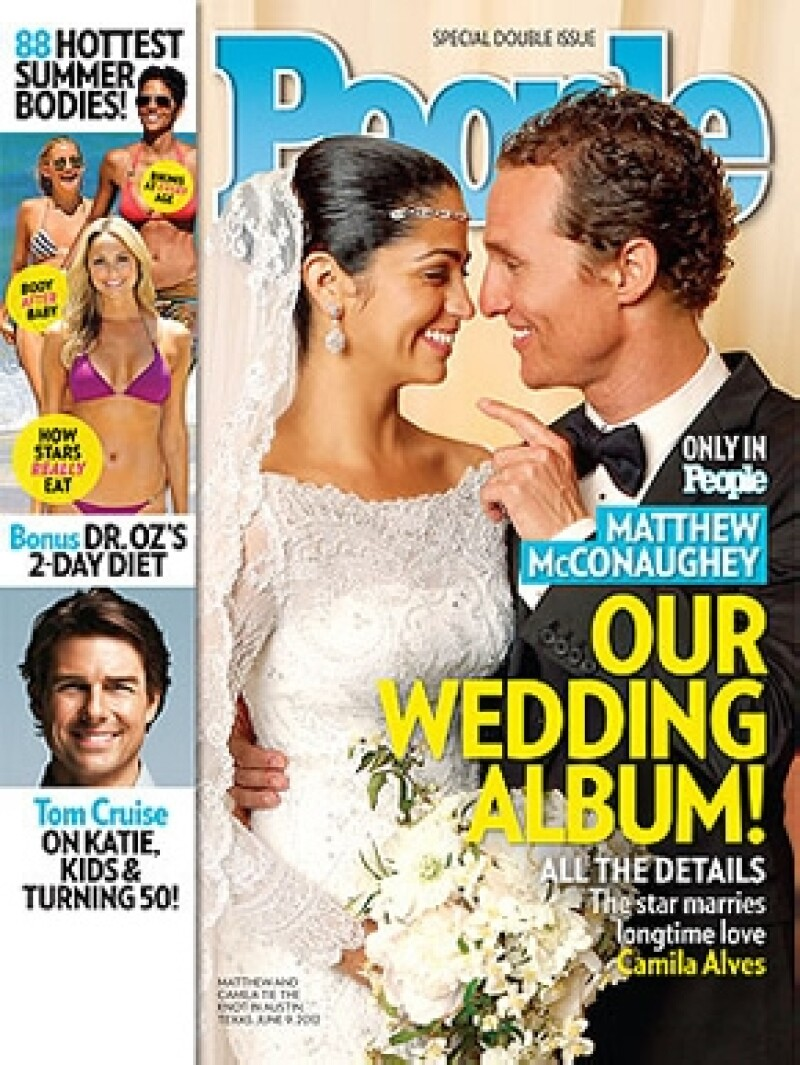 Esta es la portada de la revista People.