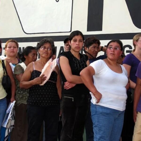 Caravana migrantes chiapas