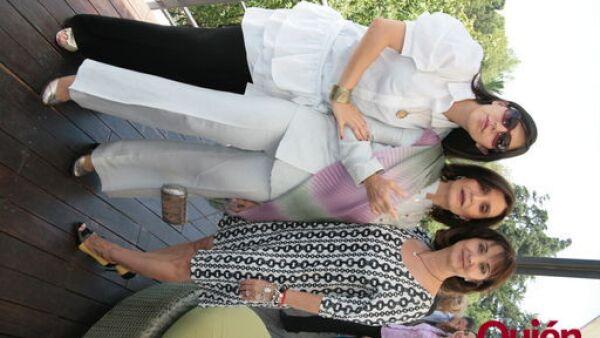 Catalina Aguilar, Angeles Mastreta, Adriana López Doriga