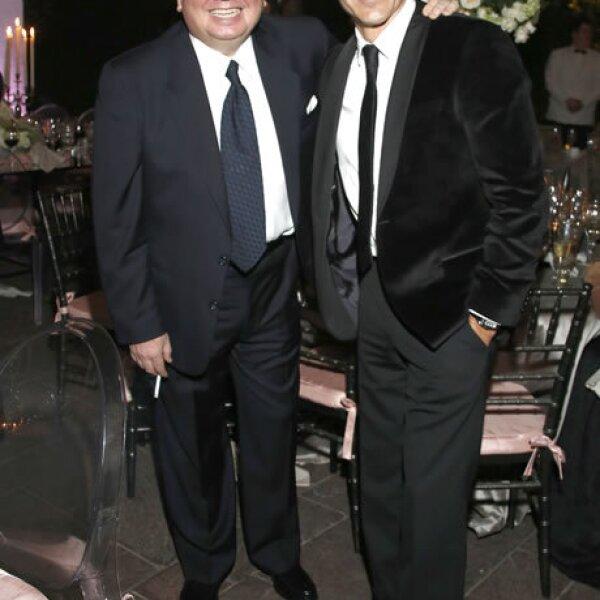 Jorge Muñiz y Adrián Uribe