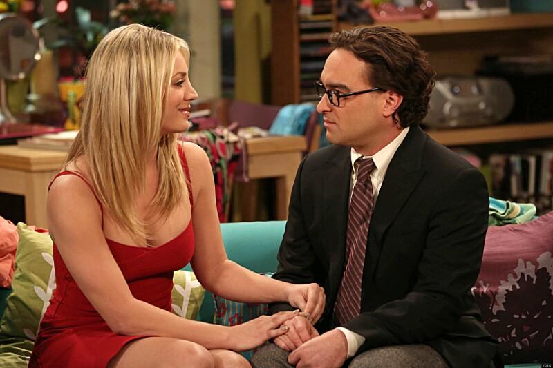 Kaley Cuoco habla sobre un posible spin-off de Leonard y Penny