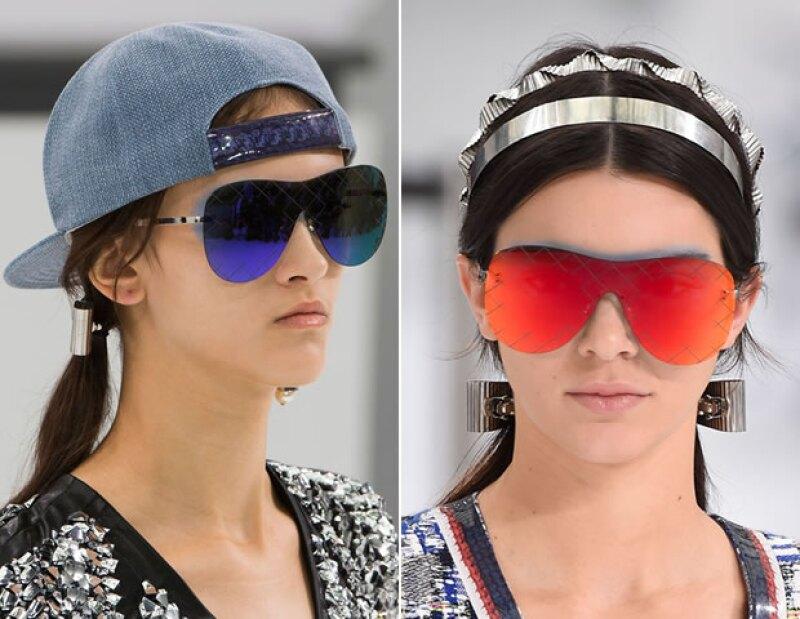 Los lentes oversized fueron un accesorio que se convertirá en un must para el verano.