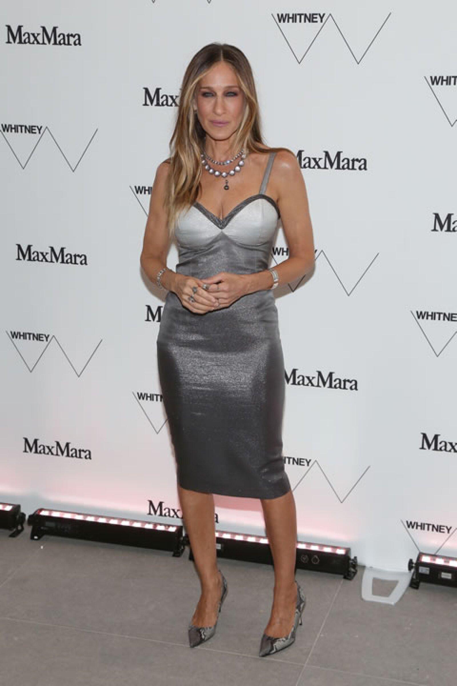 El estilo es algo característico en Sarah Jessica Parker y la moda es parte de su vida.
