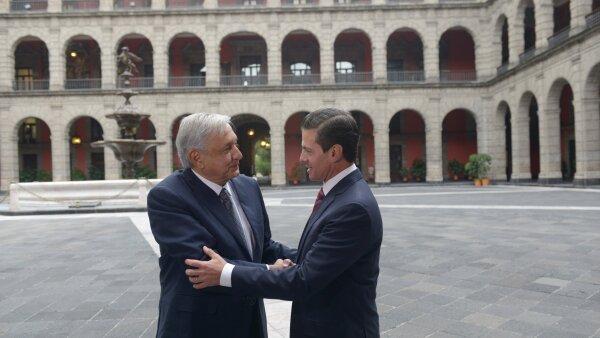 López Obrador y Peña Nieto