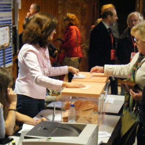 votantes en españa
