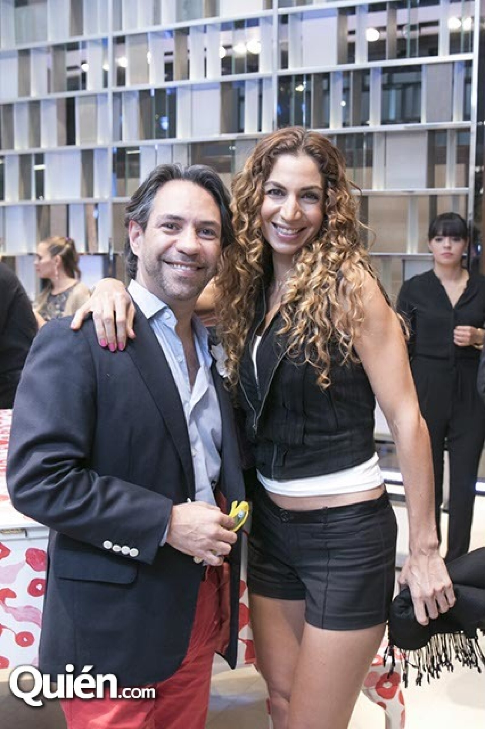 Eduardo Barcarcel e Ivonne Marcos