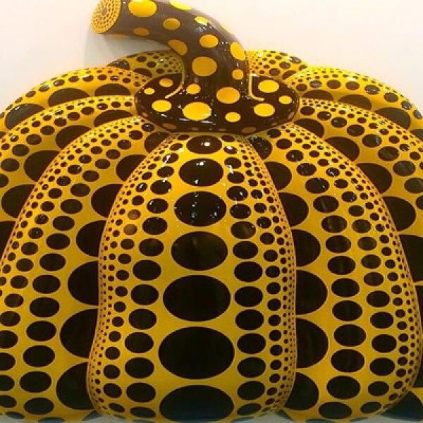 Las calabazas de la artista japonesa han atraído a muchos visitantes.