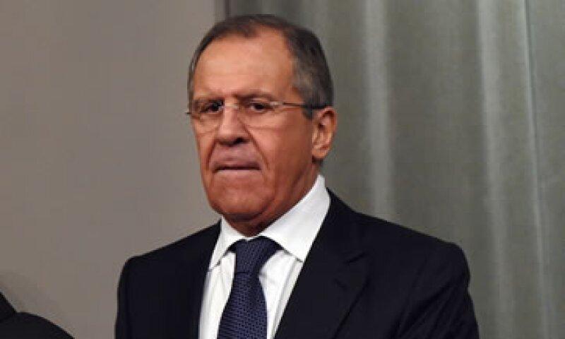 El anuncio sobre el visado lo hizo Sergei Lavrov. (Foto: AFP )