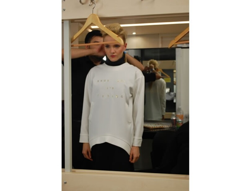 Jean Paul Gaultier y el jurado fueron conquistados por la simplicidad del diseño.
