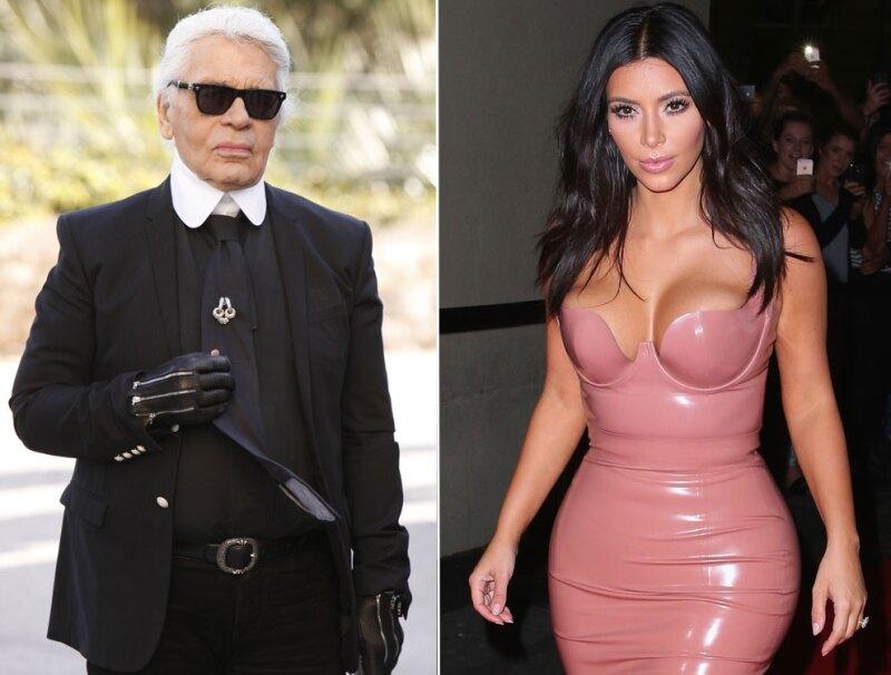 Karl Lagerfeld Kim Kardashian