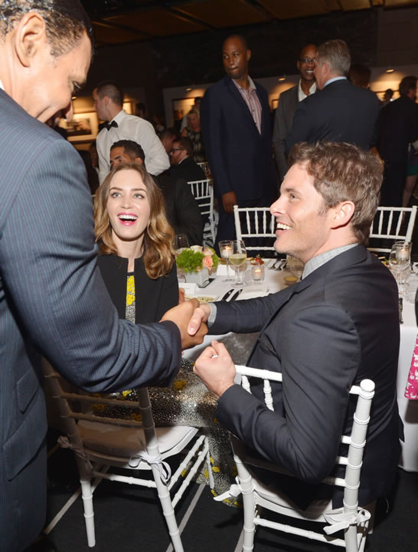 Emily Blunt y Jason Marsden.