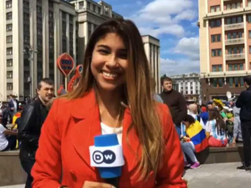 Reportera del Mundial