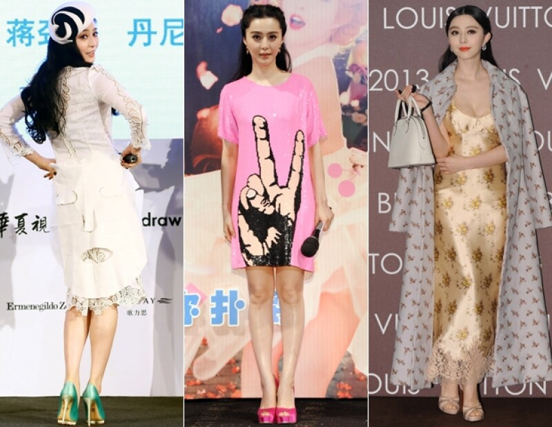 Los looks de Fan Bingbing