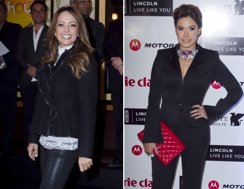 """Andrea y Galilea fueron compañeras de trabajo de Alessandra en el matutino """"HOY""""."""