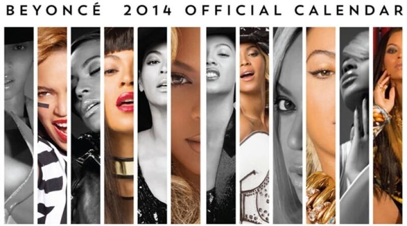 La cantante se adelantó a la competencia y compartió a  través de redes sociales imágenes exclusivas del contenido que tendrá su calendario.