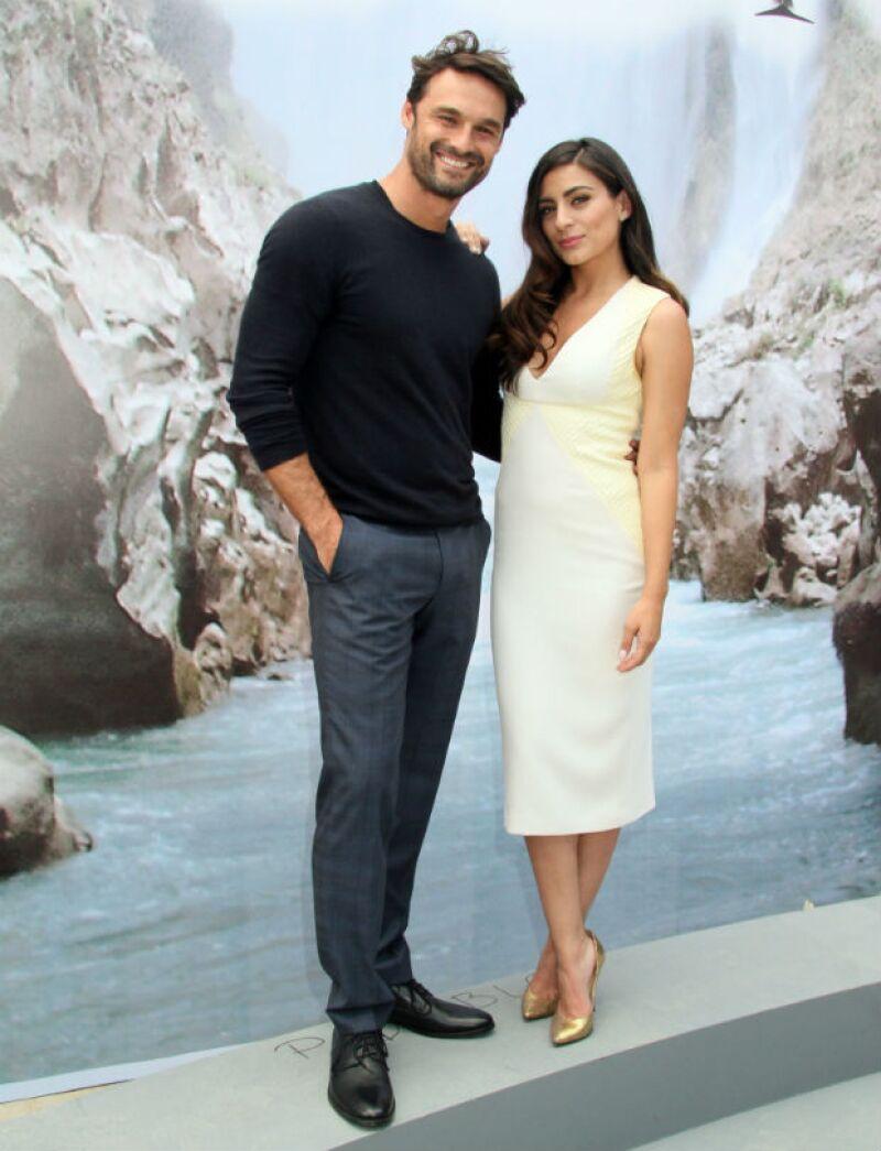 Este martes se hizo el claquetazo oficial en el que los actores fueron presentados como la pareja protagónica del melodrama que iniciará en abril, en el Canal de las Estrellas.