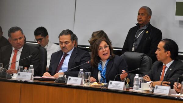 Funcionarios federales comparecen sobre la estrategia contra el robo de combustibles