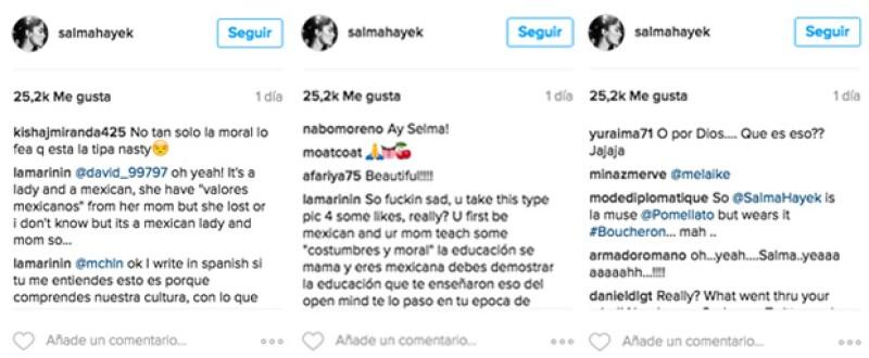 Estos fueron algunos de los comentarios que hicieron sus followers.