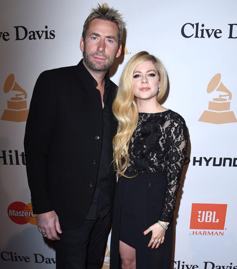 Aunque ya no son marido y mujer, la cantante y Chad Kroeger aparecieron juntos como date de San Valentín, e incluso ella publicó un par de instantáneas con él.