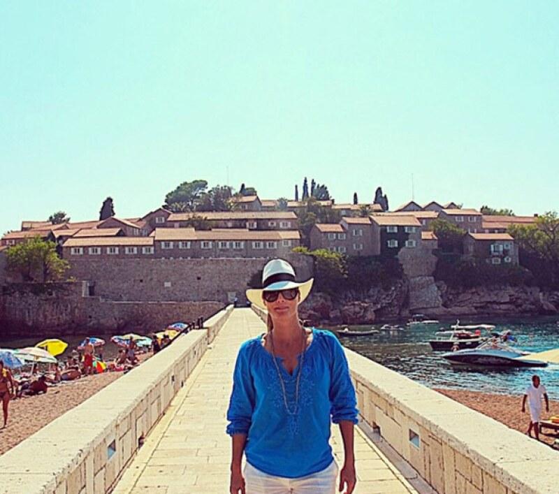 La conductora de Mojoe estuvo en Montenegro, un pequeño país al sureste de Europa.