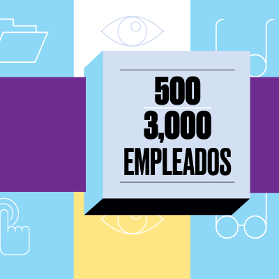 Empresas de 500 a 3000 empleados / media especial home