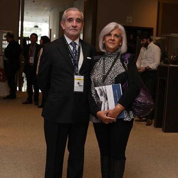 Antonio Carranza y Xanat Tornell