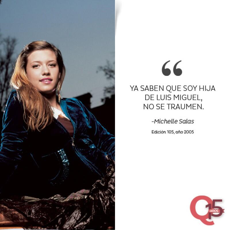 Michelle Salas.