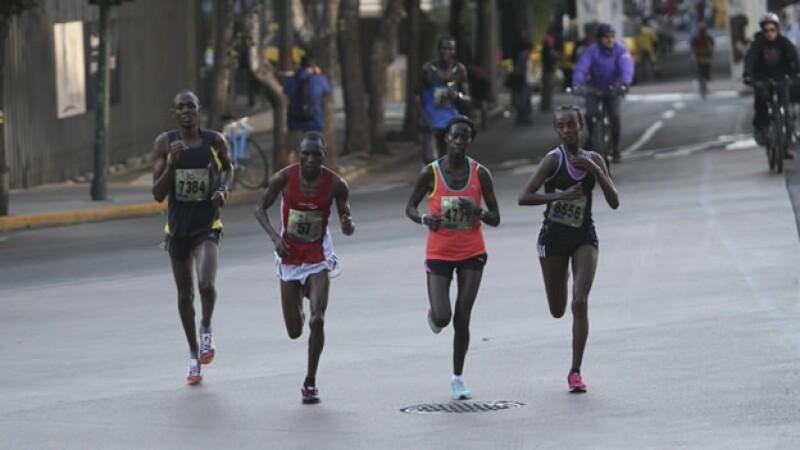 Maraton 2012, kenia, corredores, maratonistas, africanos