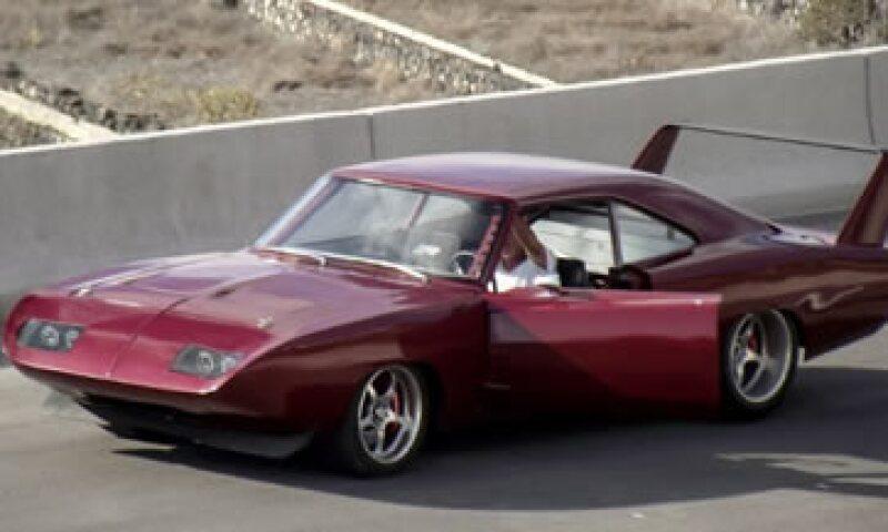 El Dodge Charger Daytona 1969 en acción. (Foto: Tomada de CNNMoney )