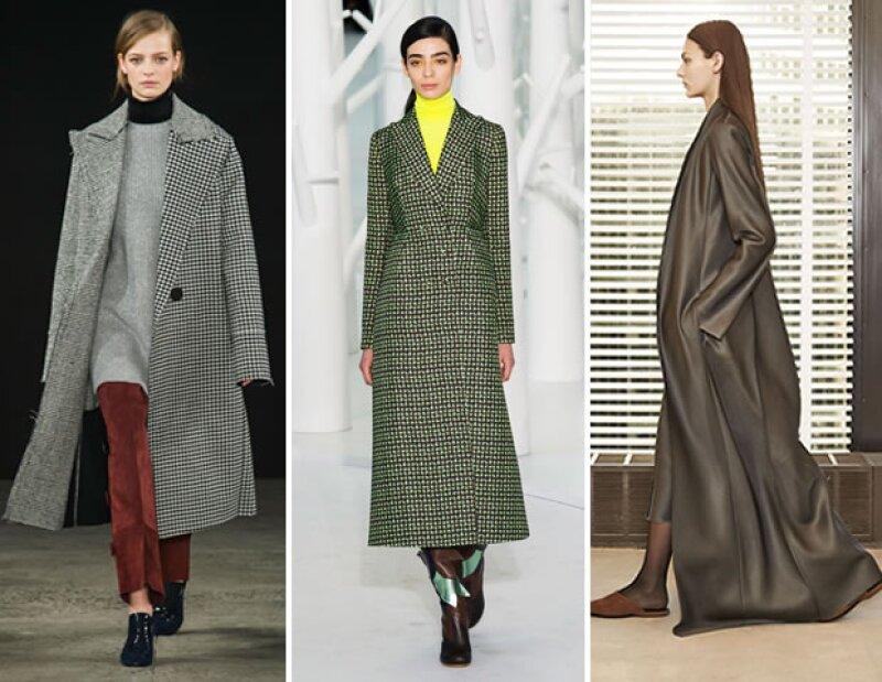 Los sacos largos fueron una de las tendencias más fuertes de 2015 y es nuestra apuesta para darle un toque especial a nuestros outfits de 2016.