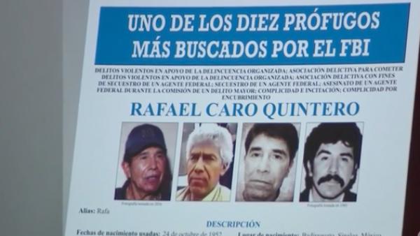 EE.UU. ofrece millonaria recompensa por captura de narcotraficante mexicano Caro