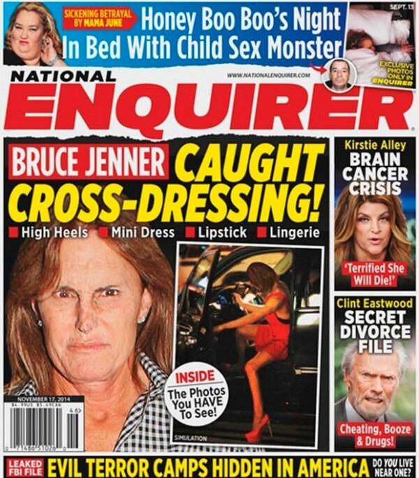 Esta no es la primera vez que especulan sobre su look de mujer.