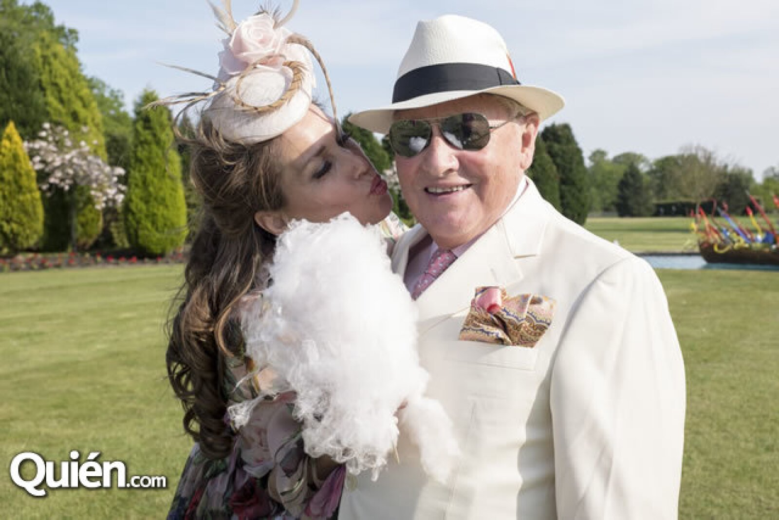 Sonia Falcone y George Shaked