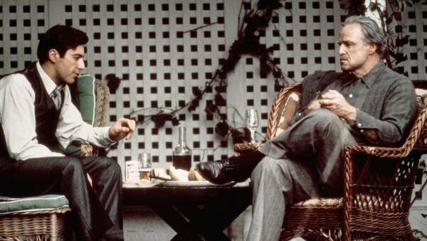 Al Pacino y Marlon Brando