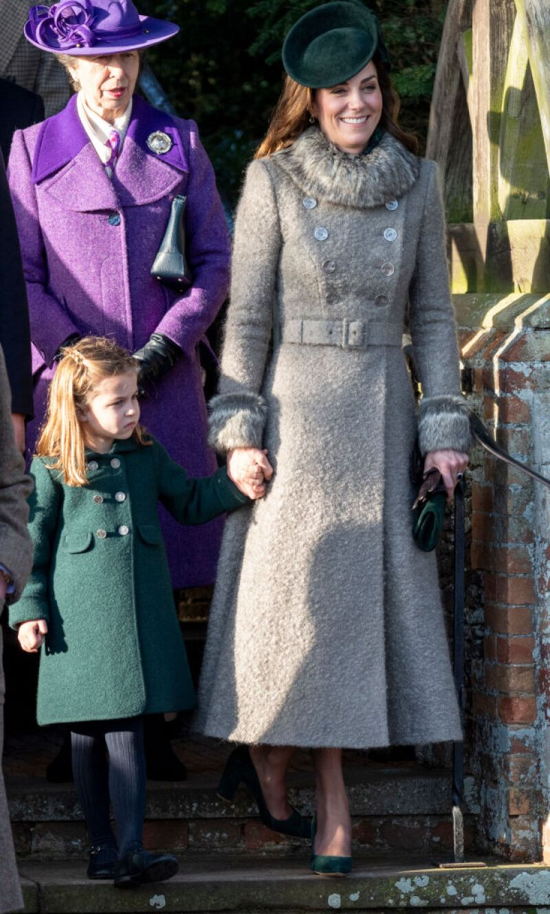 Kate Middleton y la princesa Charlotte