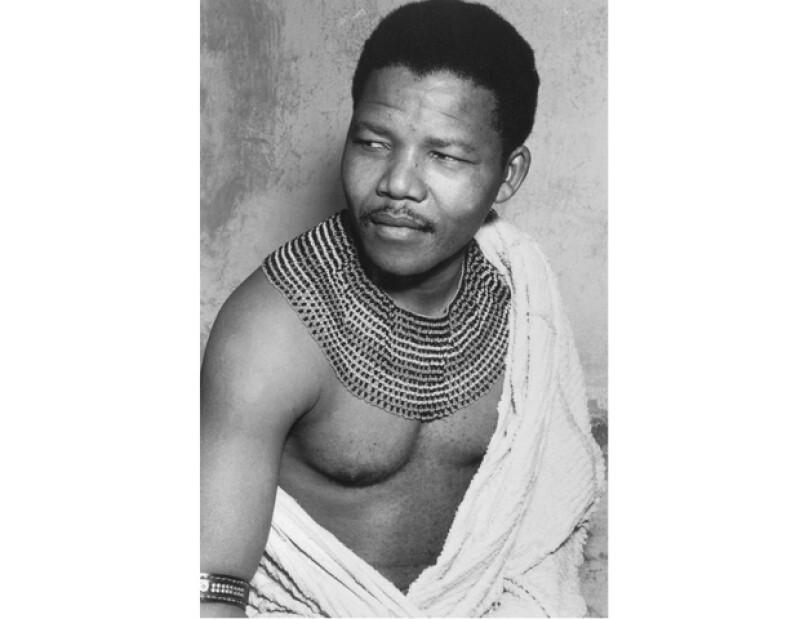 Nelson Mandela en 1950.