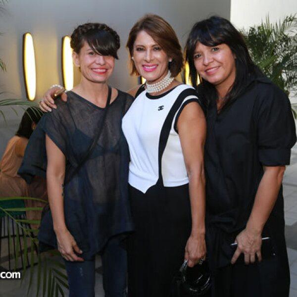 Renata Franco,Lorena Cuña y Julia Renata