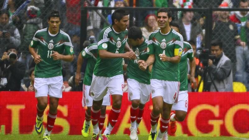 Mexico golea 5 a 1 a Nueva Zelandia
