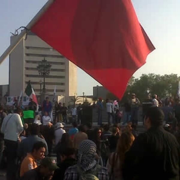 protestas en monterrey