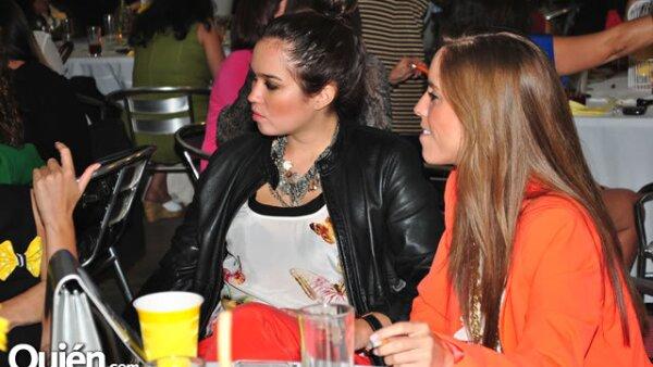 Andrea Bastidas y Paty de la Mora