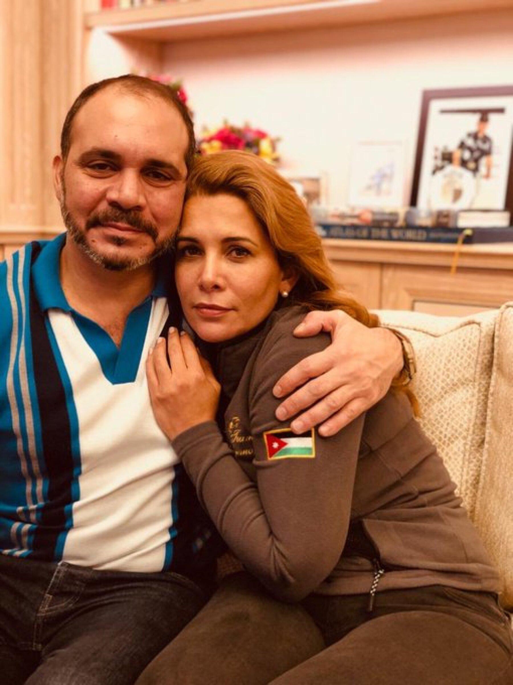 Ali Al Hussein y la princesa Haya