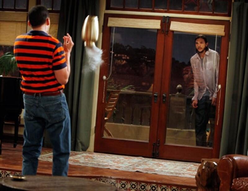 El personaje de Sheen en la exitosa serie definitivamente ha desaparecido, según lo visto en el nuevo episodio de la serie, que estrenó temporada ayer por la noche en EU.
