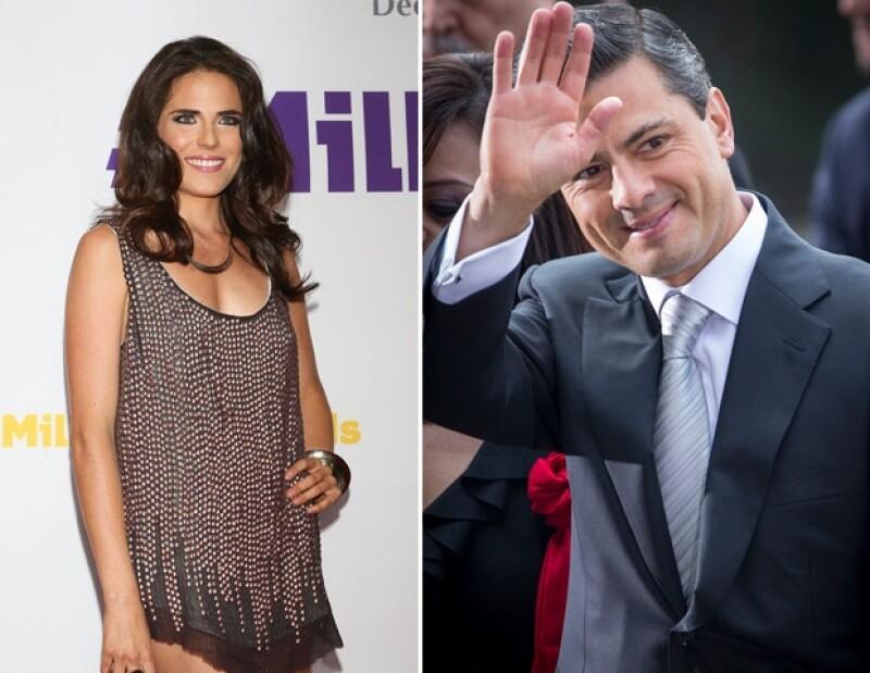"""El presidente de México le envió una carta a la actriz para expresarle lo divertida y reflexiva que fue su actuación de """"Barbie Noble""""."""